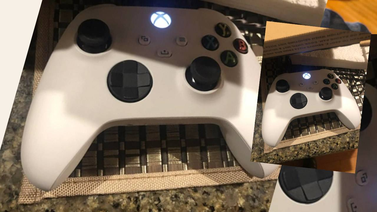 Mystery Xbox Series controller leaked online in white