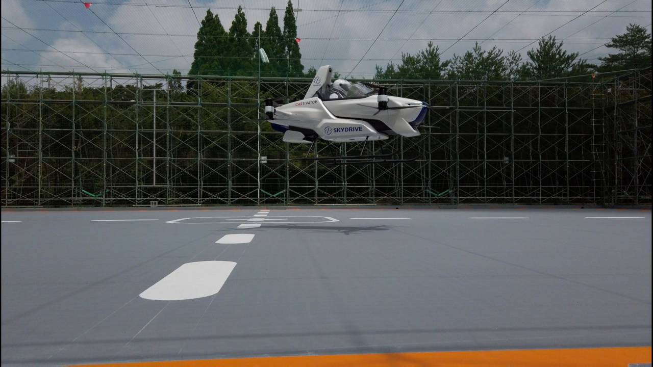 The SkyDrive SD-03 is the flying car of tomorrow