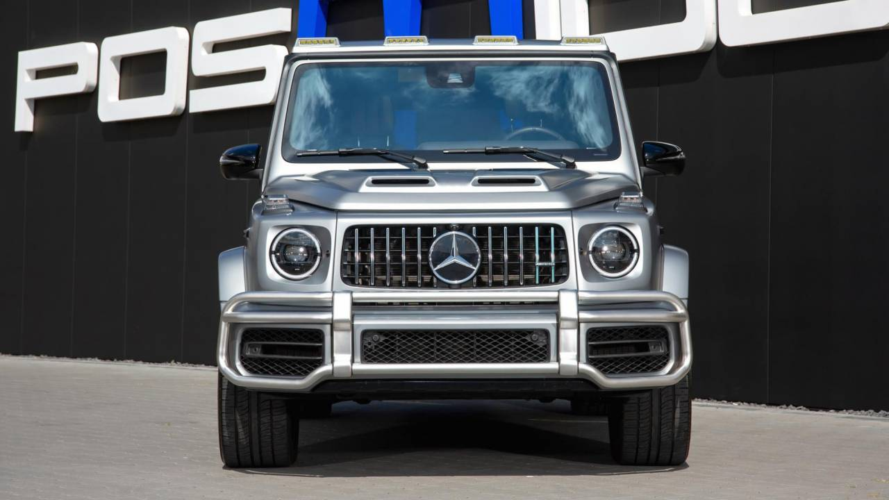 This Mercedes-AMG G63 by Posaidon is the mightiest of all SUVs