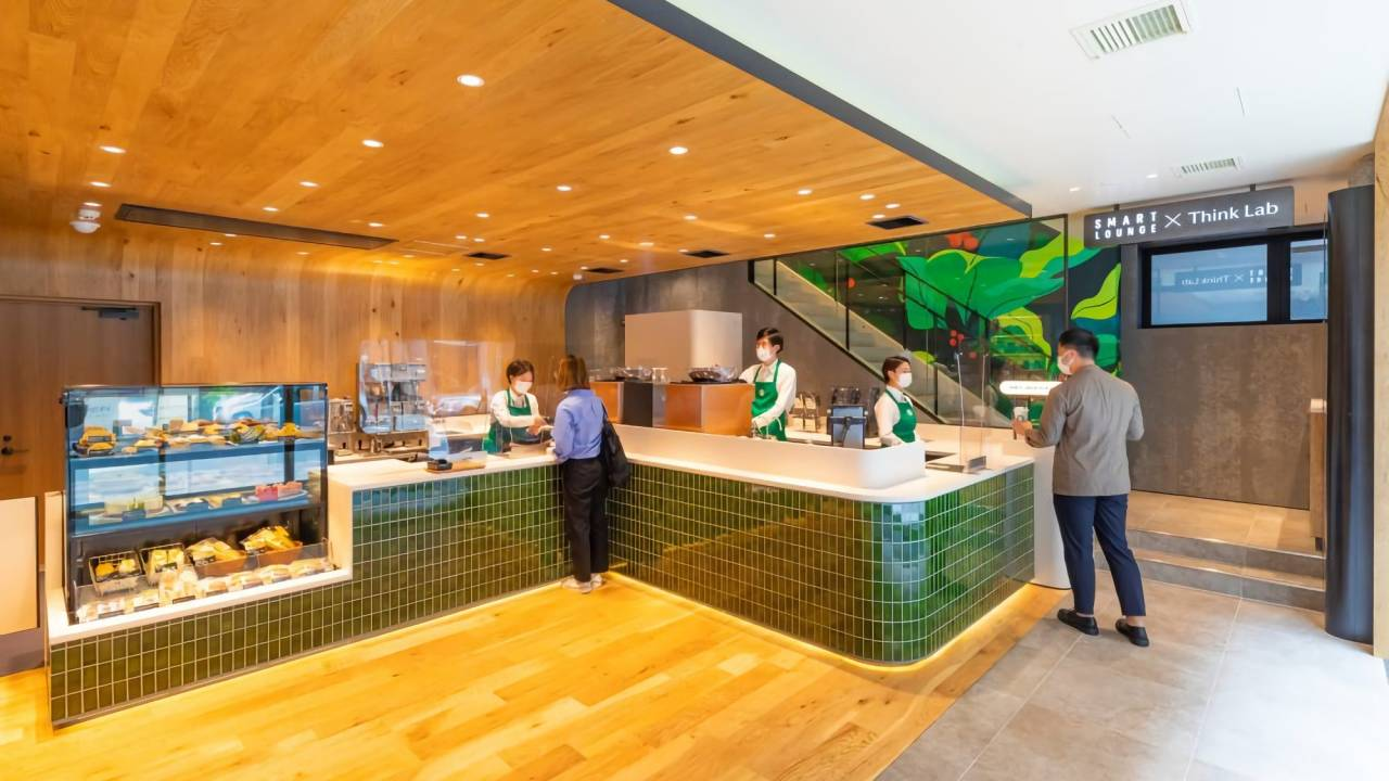 Starbucks Japan transforms cafe into a public co-working space