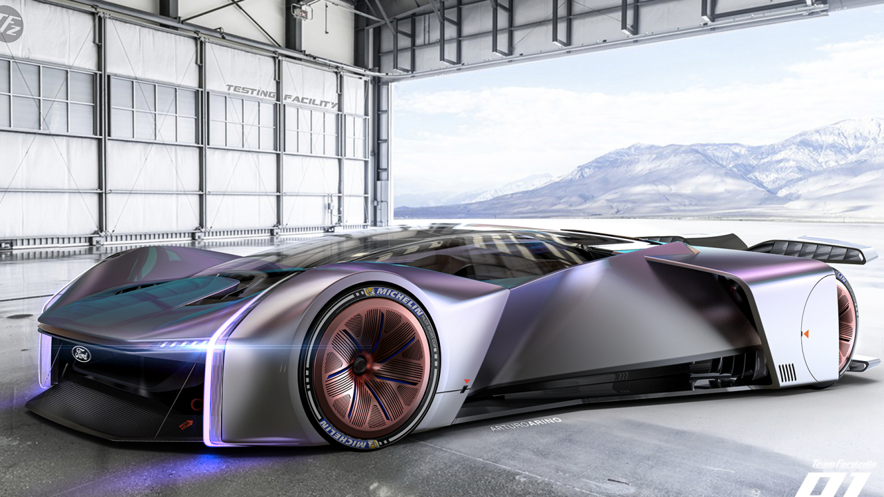 This epic Ford racer concept is what happens when gamers make the decisions