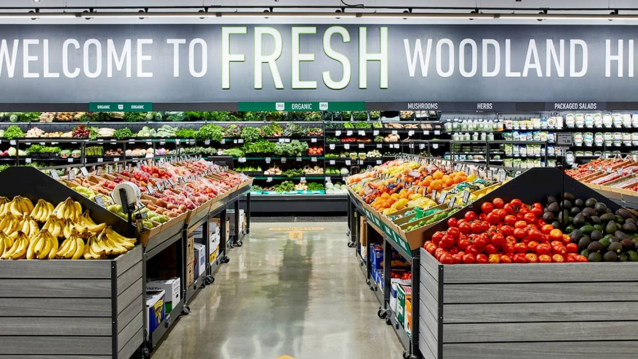 First Amazon Fresh grocery store opens its doors – but good luck getting in