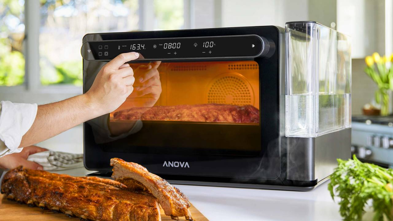 Anova Precision Oven aims to make steam combi cooking affordable