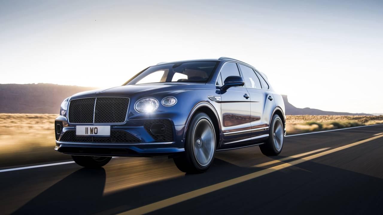 2021 Bentley Bentayga Speed Gallery