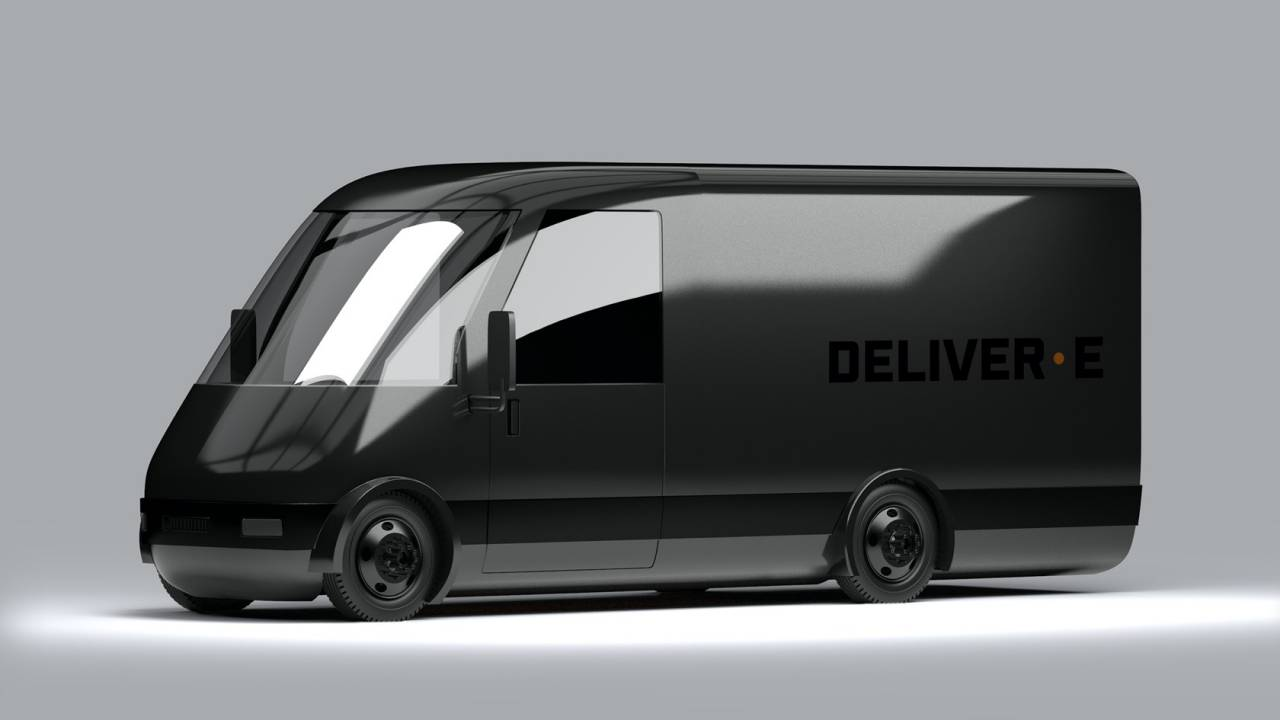 Bollinger DELIVER-E electric van has Rivian and Ford in its sights