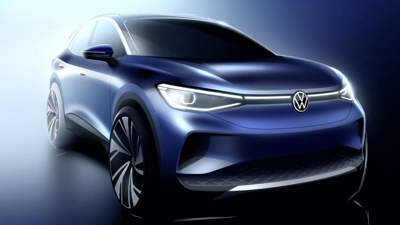 2021 VW ID.4 crossover design revealed ahead of 2020 US release