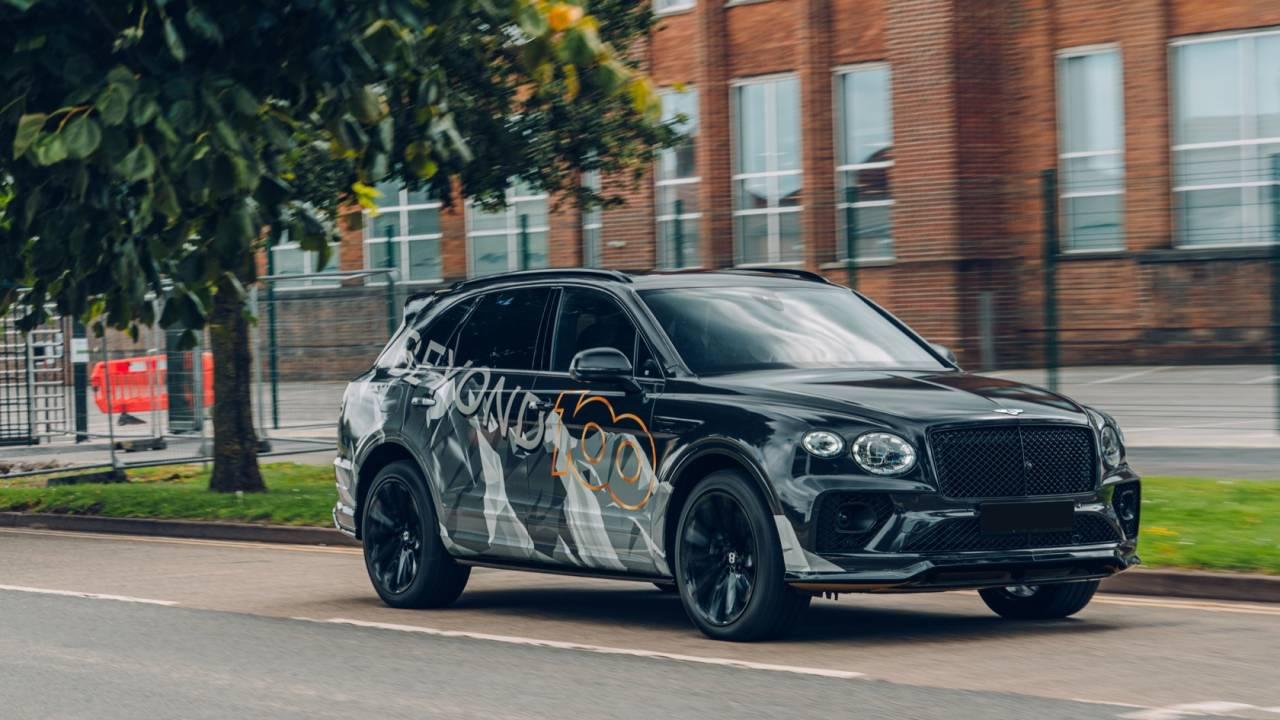Bentley Is Already Teasing Another New Bentayga Slashgear