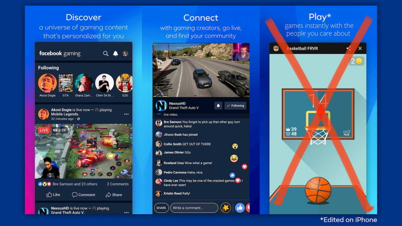 Facebook blasts Apple for iOS Gaming app 'inferior experience'