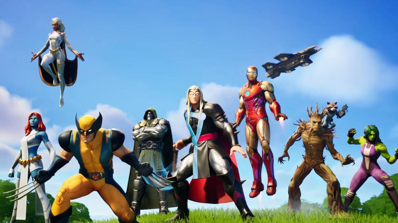 Fortnite Chapter 2, Season 4 update is here and it's one big Marvel crossover
