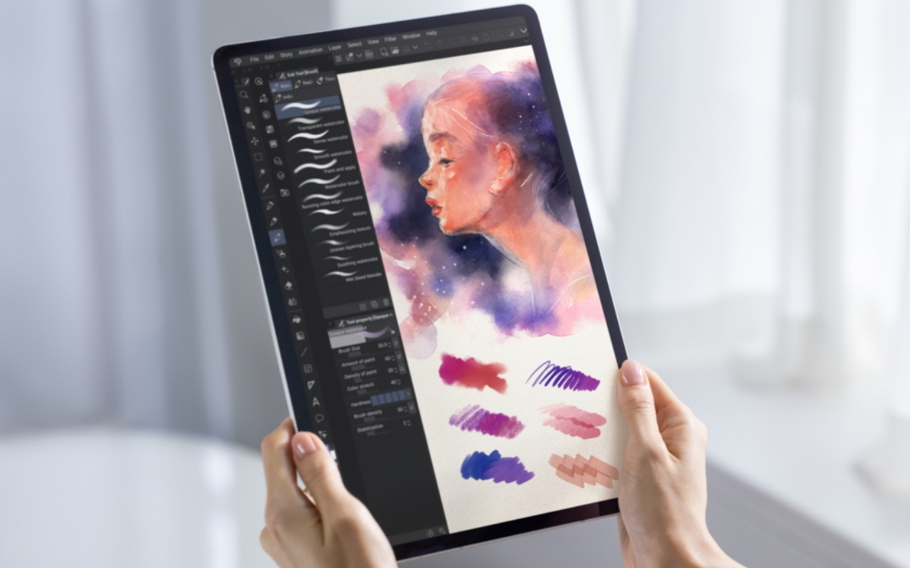 Galaxy Tab S7 Gets Exclusive Clip Studio Paint For Android Slashgear