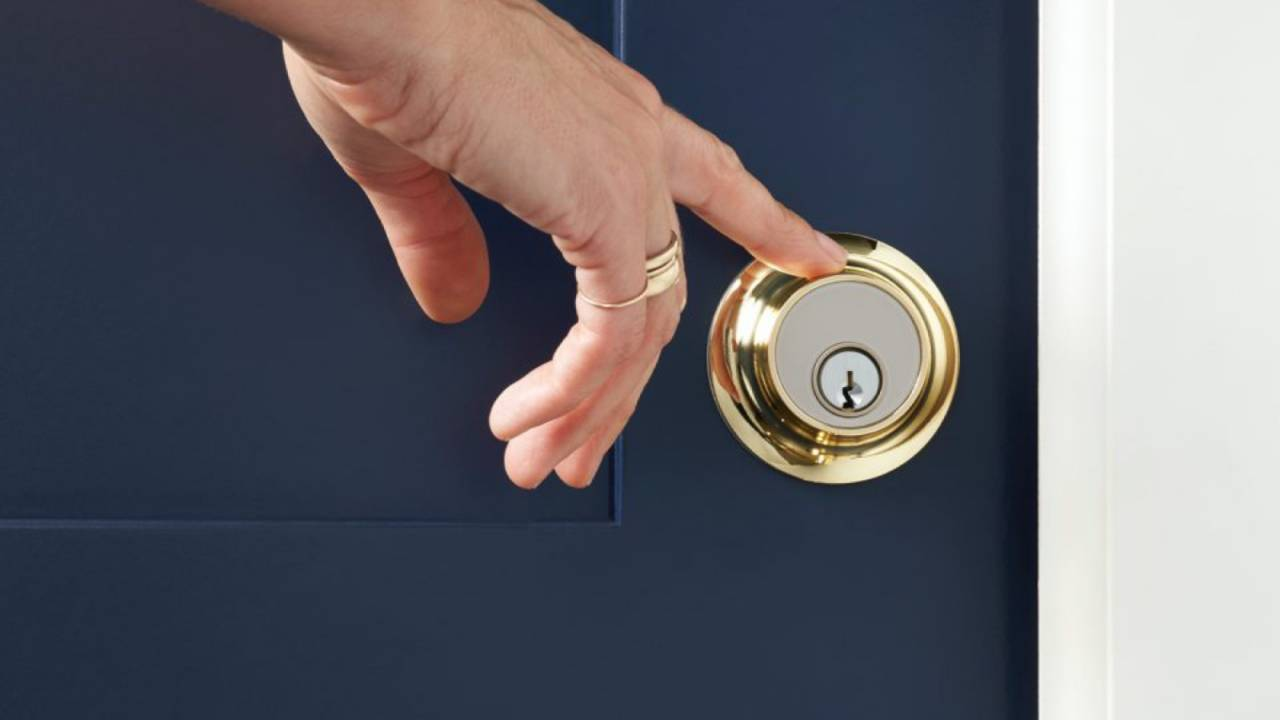 Level Touch hides a smart lock in an easier-to-unlock design