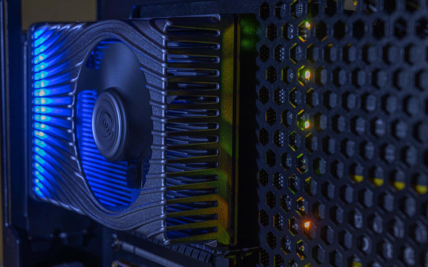 Первый публичный тест игрового графического процессора Intel Xe HPG
