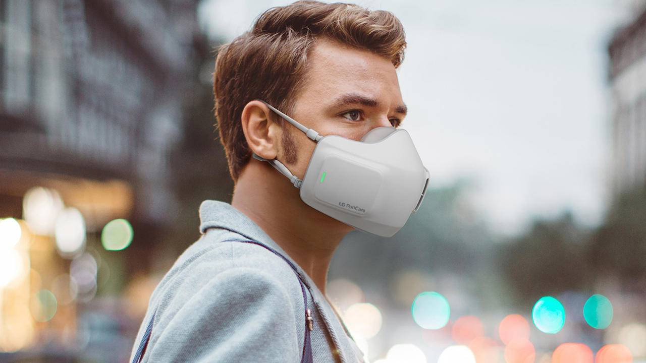 LG PuriCare is an air purifier you can wear over your face