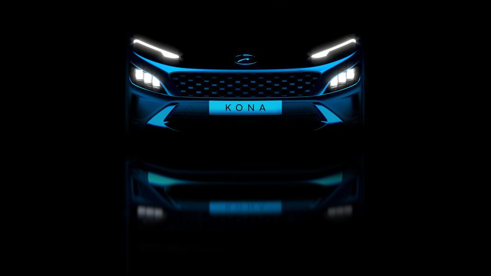 Hyundai unveils teaser images of refreshed Kona and Kona N Line