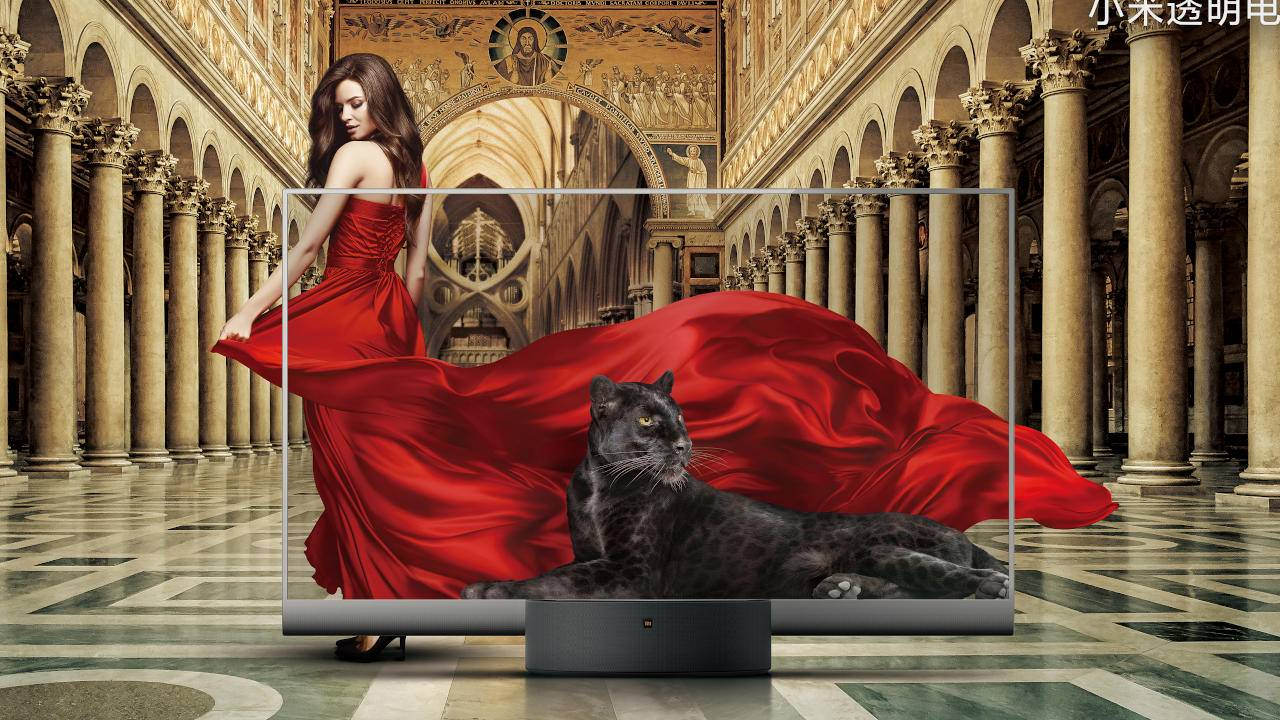 Xiaomi Mi TV LUX has a Transparent Edition you thought you never wanted