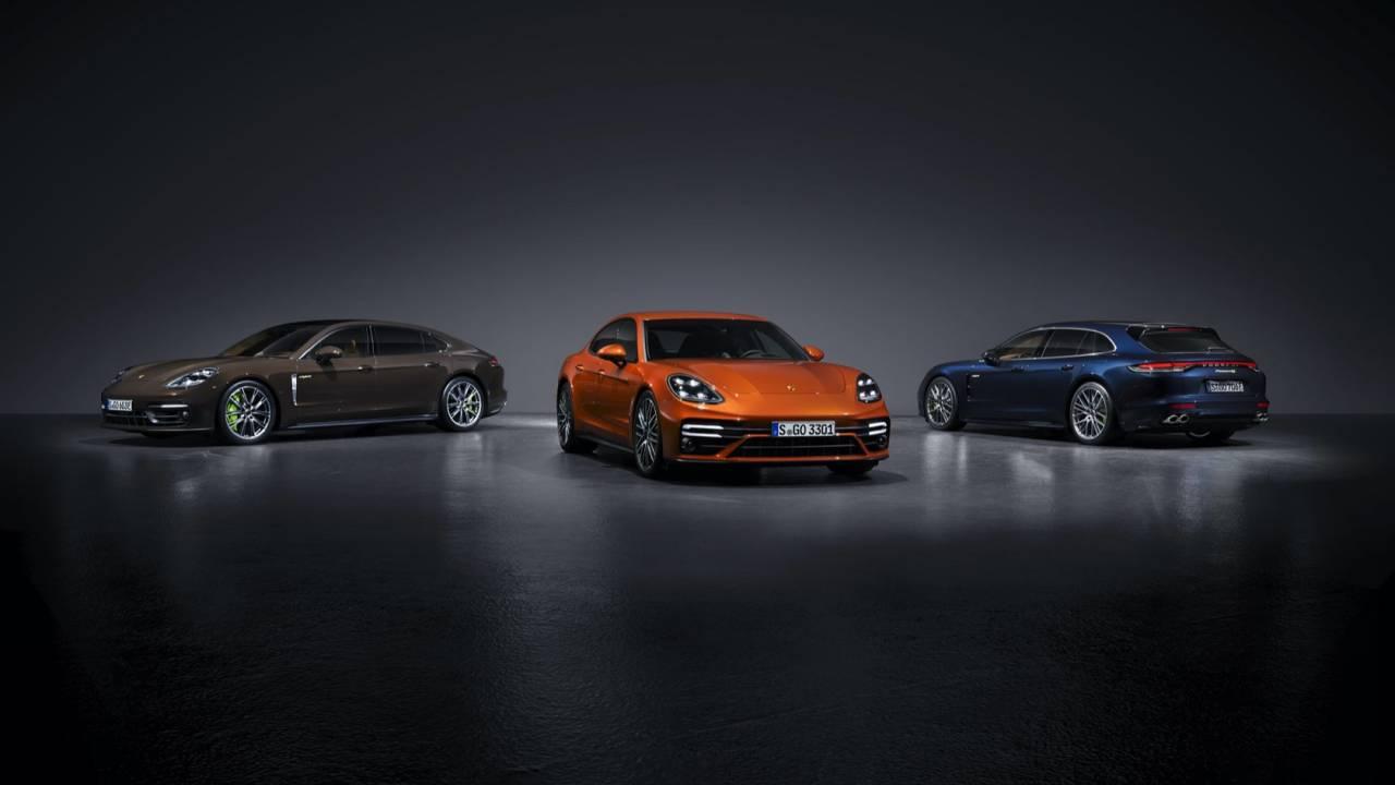 2021 Porsche Panamera Gallery
