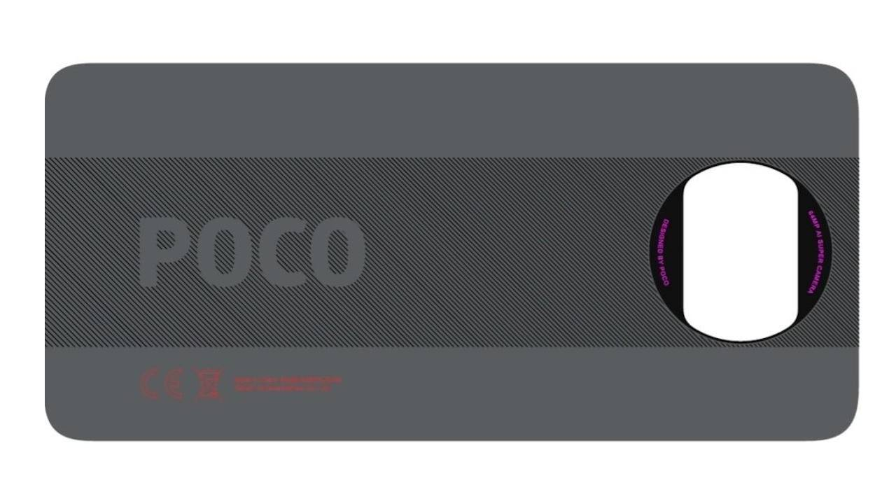 POCO X3 might finally break away from Xiaomi design