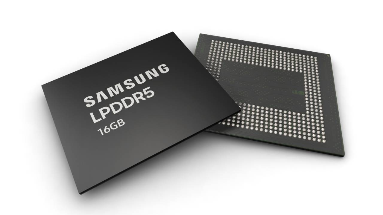 Samsung 16Gb LPDDR5 RAM mass-produced for next year's 5G flagships