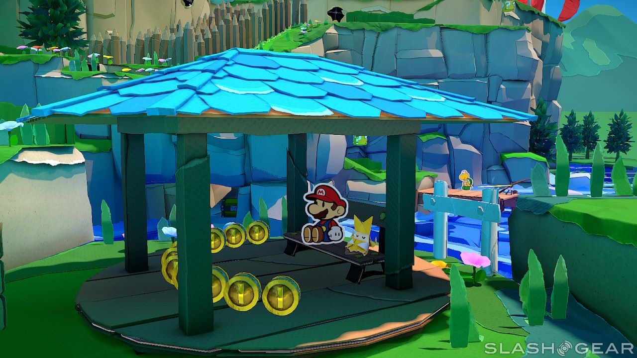 Paper Mario: The Origami King review: Puzzles, puns, papier-mache