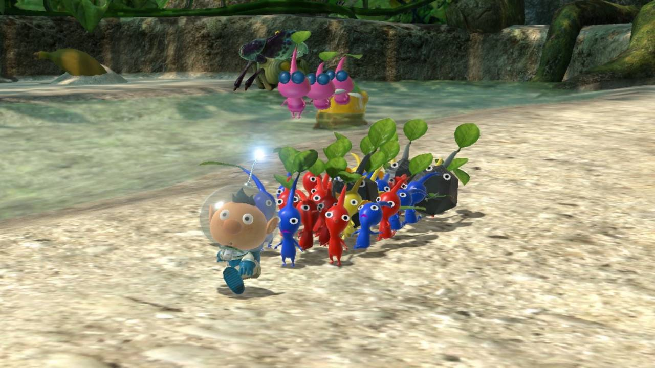 Pikmin 3 is getting a second life on Nintendo Switch