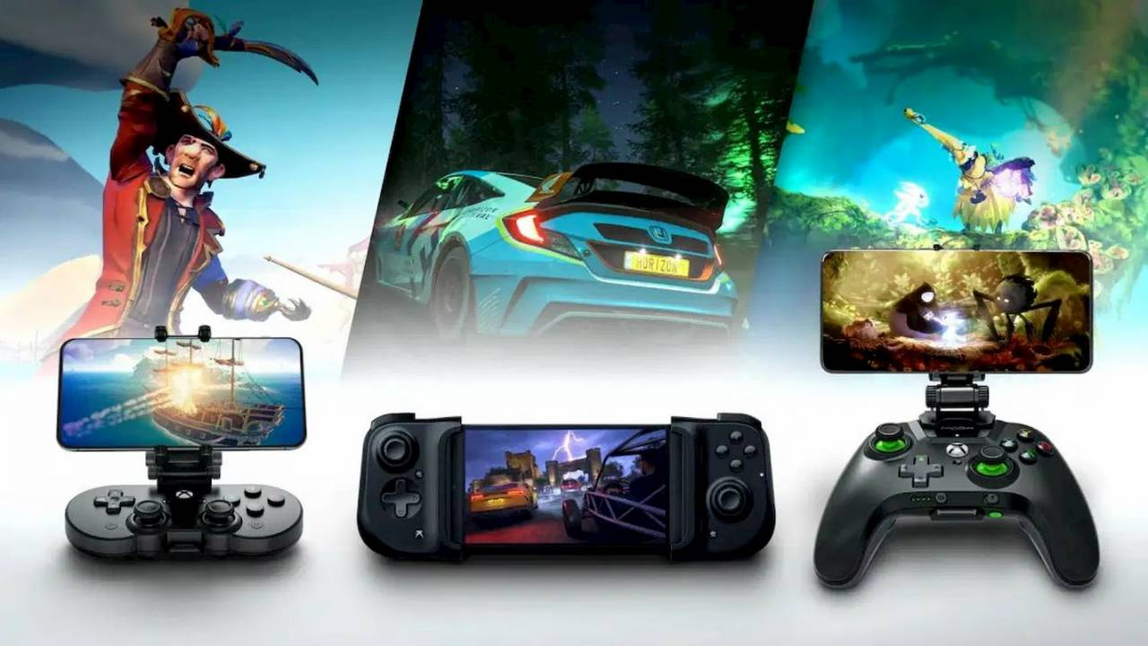 These are the Xbox Project xCloud launch controllers