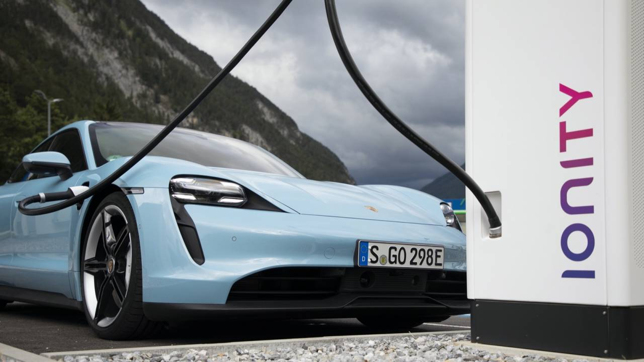 2021 Porsche Taycan gets speed, charging and tech improvements
