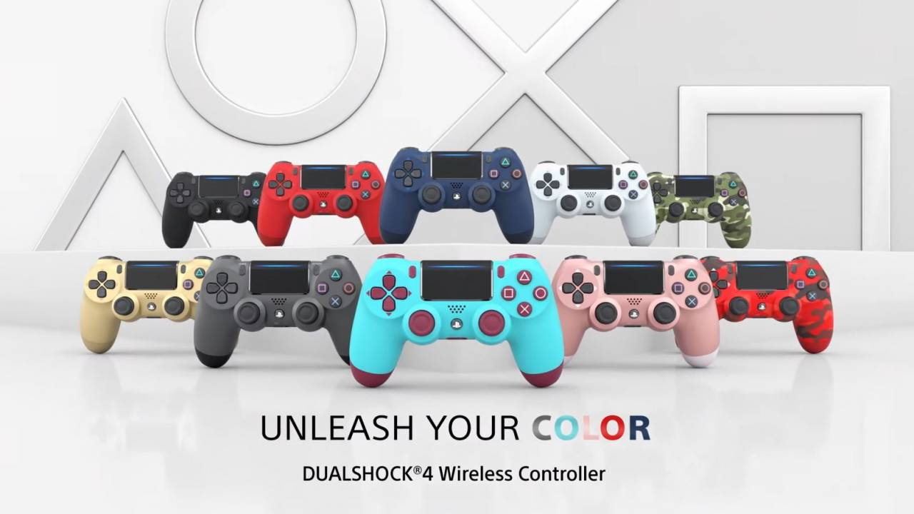 Sony giving some DualShock 4 colors an encore this month