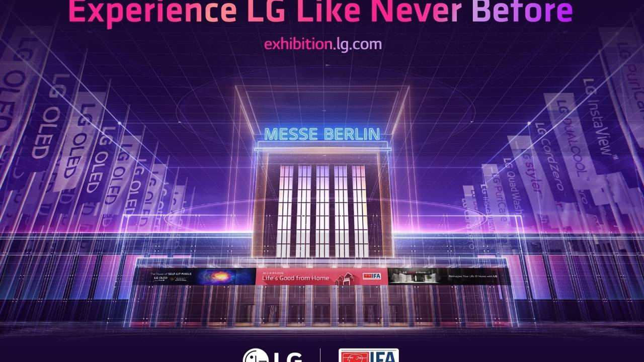 LG virtual IFA 2020 exhibit goes live for a virtual audience