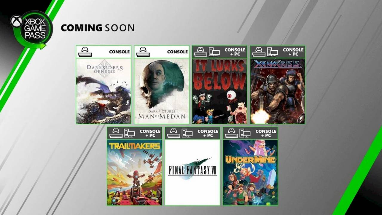 Xbox Game Pass is getting a bunch of games this month
