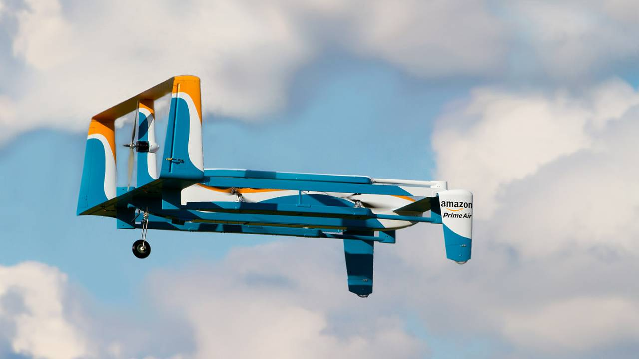 Amazon Prime Air drone delivery platform just hit a huge milestone