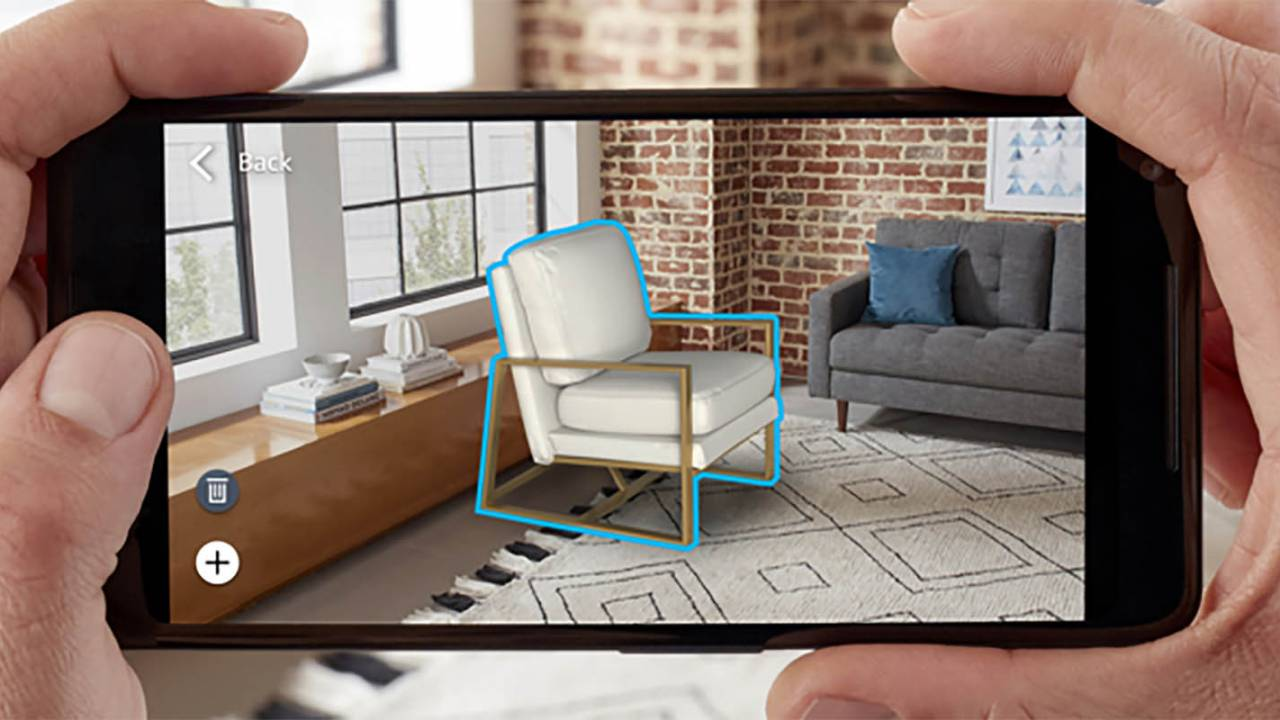Amazon's latest AR tool puts many virtual objects in the same room