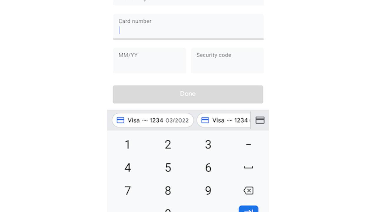 Android 11 will integrate autofill in keyboard suggestions