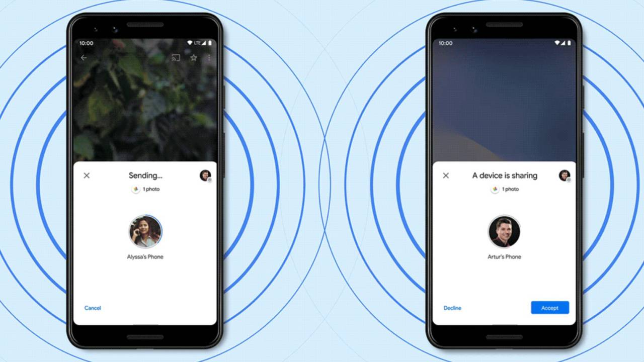 "Google Nearby Share hits phones: ""AirDrop"" for Android"