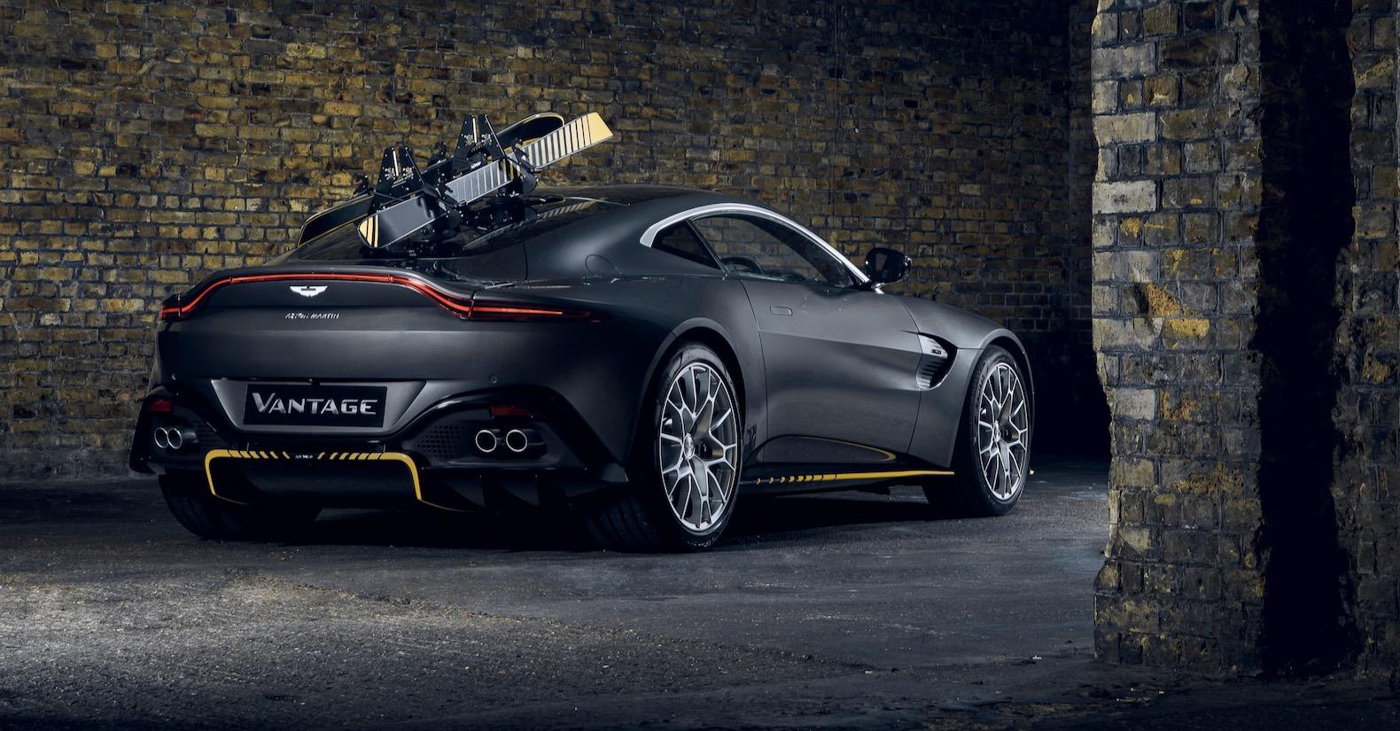 Aston Martin Dbs Superleggera And Vantage 007 Edition Welcomes No Time To Die In Cinemas Slashgear