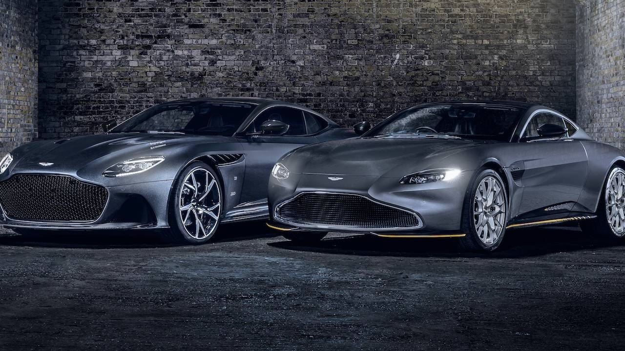 Aston Martin DBS Superleggera and Vantage 007 Edition welcomes No Time To Die in cinemas