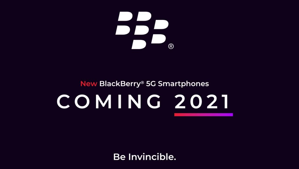 BlackBerry 5G phone coming in 2021 with security and design at the forefront
