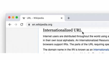 Chrome full URL hiding is an anti-spoofing experiment