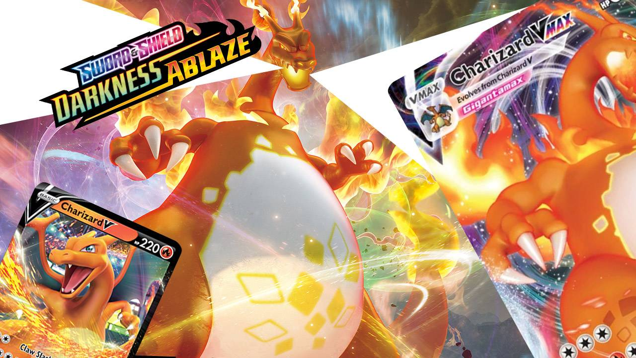 New Pokemon TCG card set released with VMAX Charizard