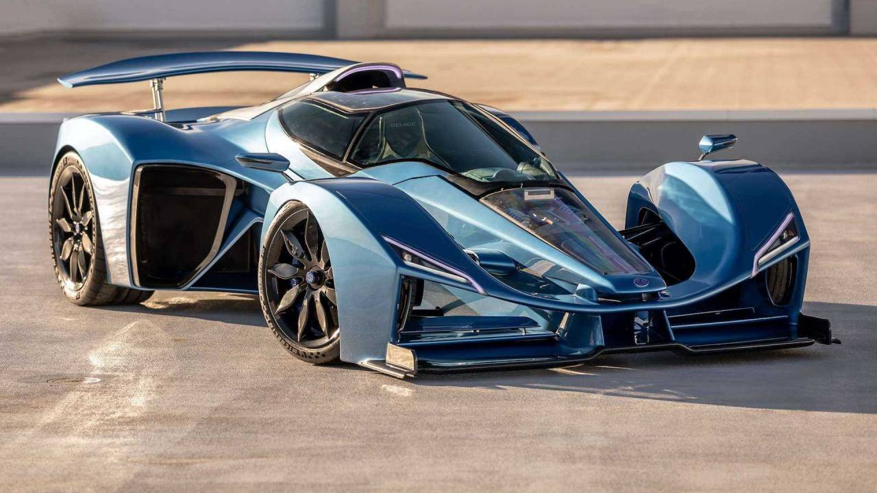 The Delage D12 hybrid hypercar is entering production