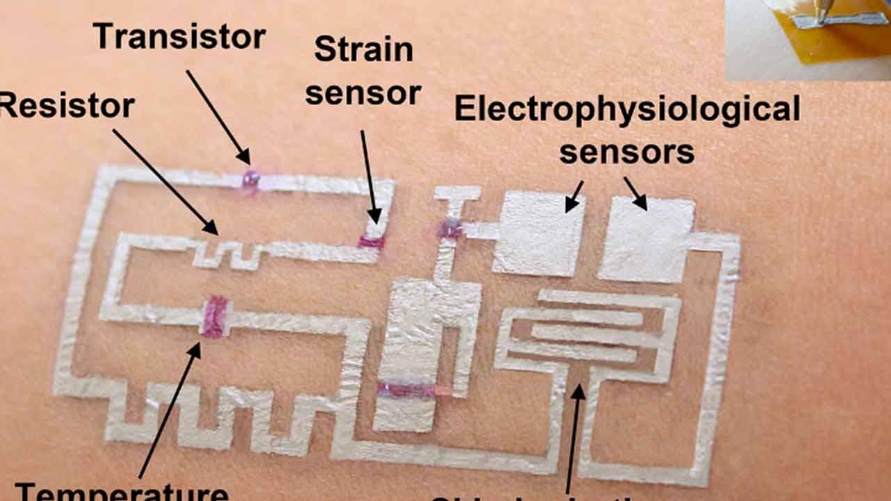 University of Houston researchers create drawn-on-skin electronics
