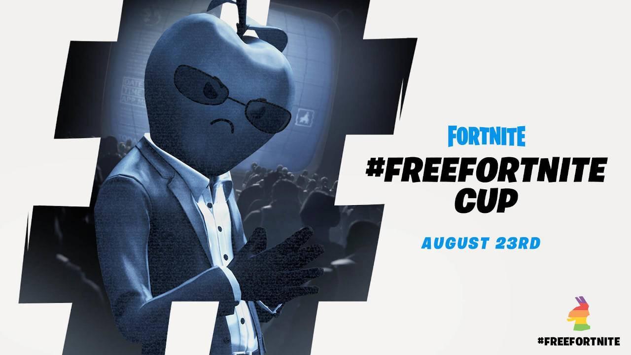 #FreeFortnite Cup is an unsubtle jab at Apple