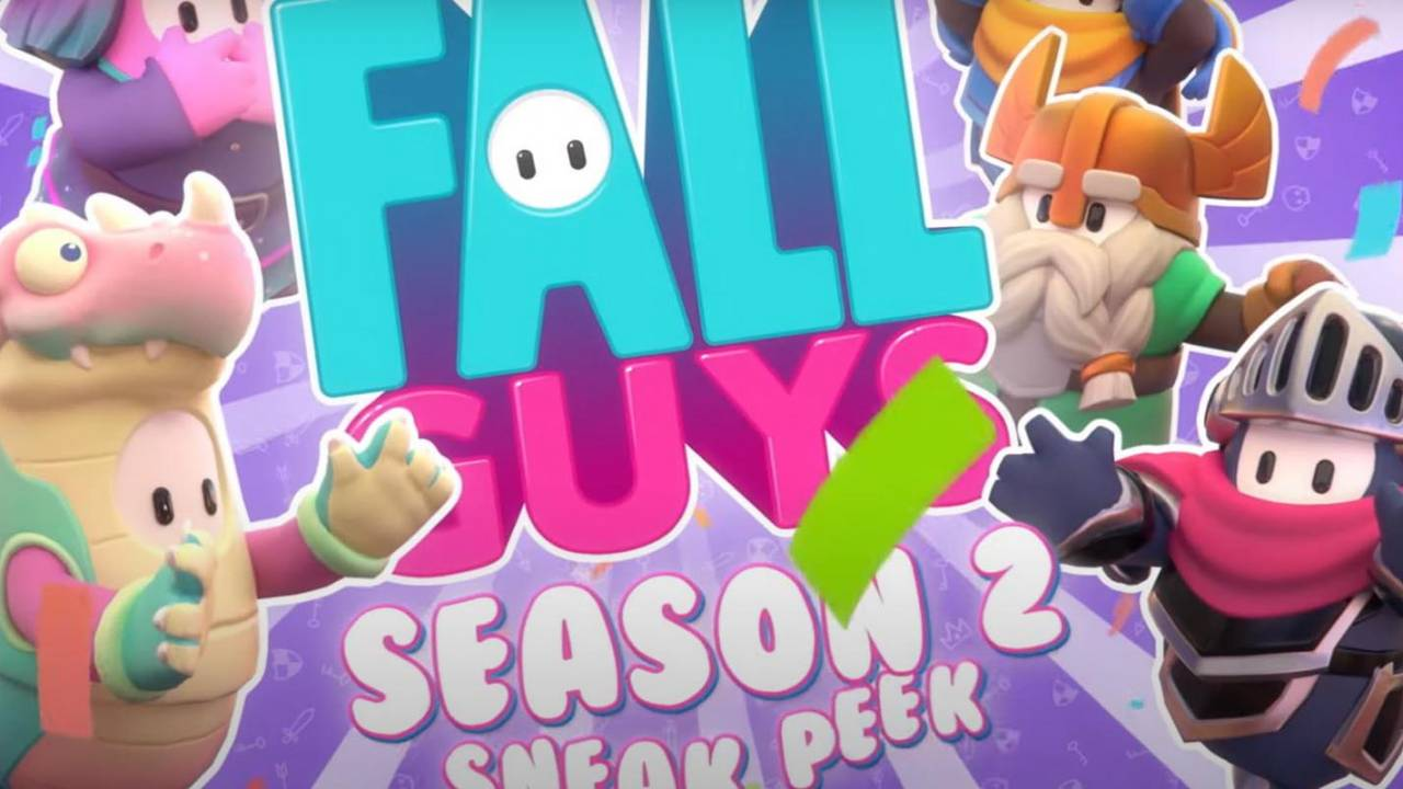 Fall Guys Season 2 sneak peek reveals drawbridges and knights