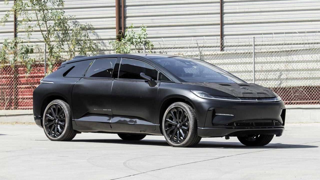 2016 Faraday Future FF91 prototype heads to auction