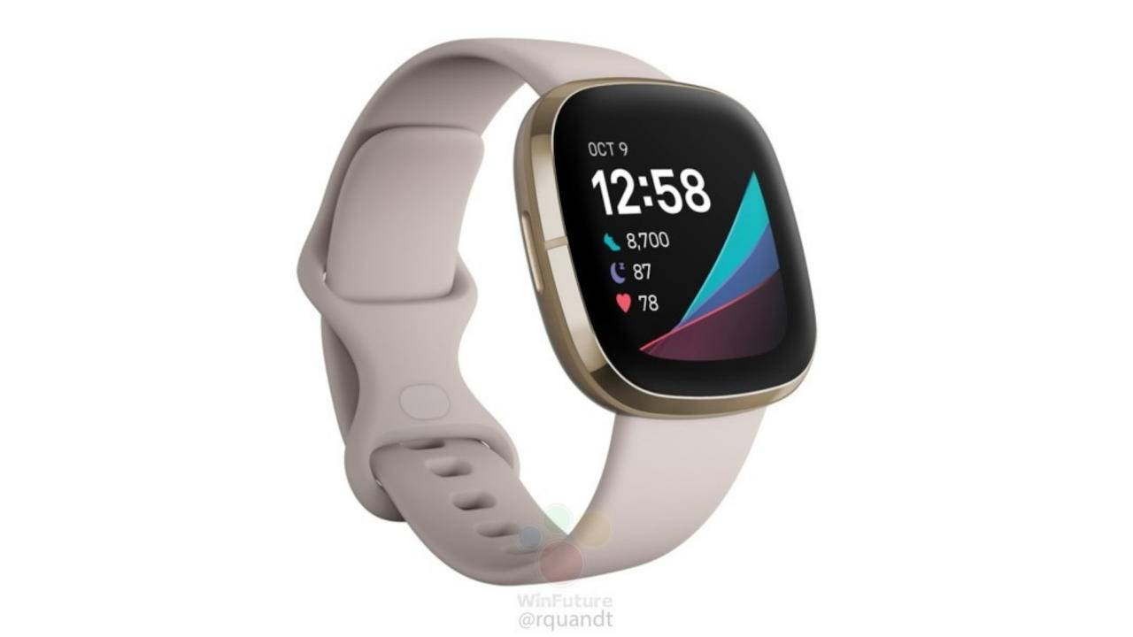 Fitbit Sense with ECG appears in leaked renders with Versa 3, Inspire 2