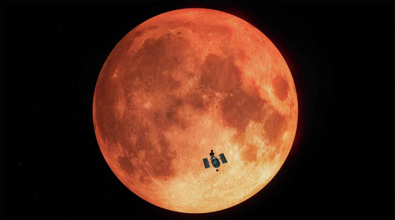 Lunar eclipse helps Hubble scientists study the Earth
