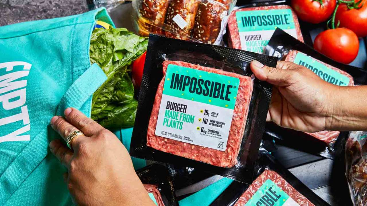 Plant-based Impossible Burger just hit shelves at another big retailer