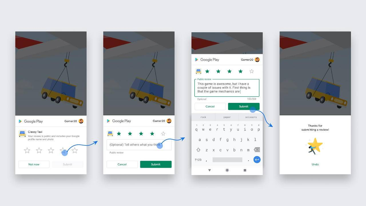 Android's new In-App Review system could become annoying quickly