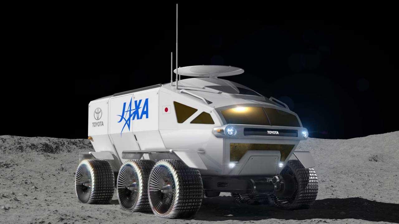 """JAXA and Toyota dub their pressurized rover """"LUNAR CRUISER"""""""
