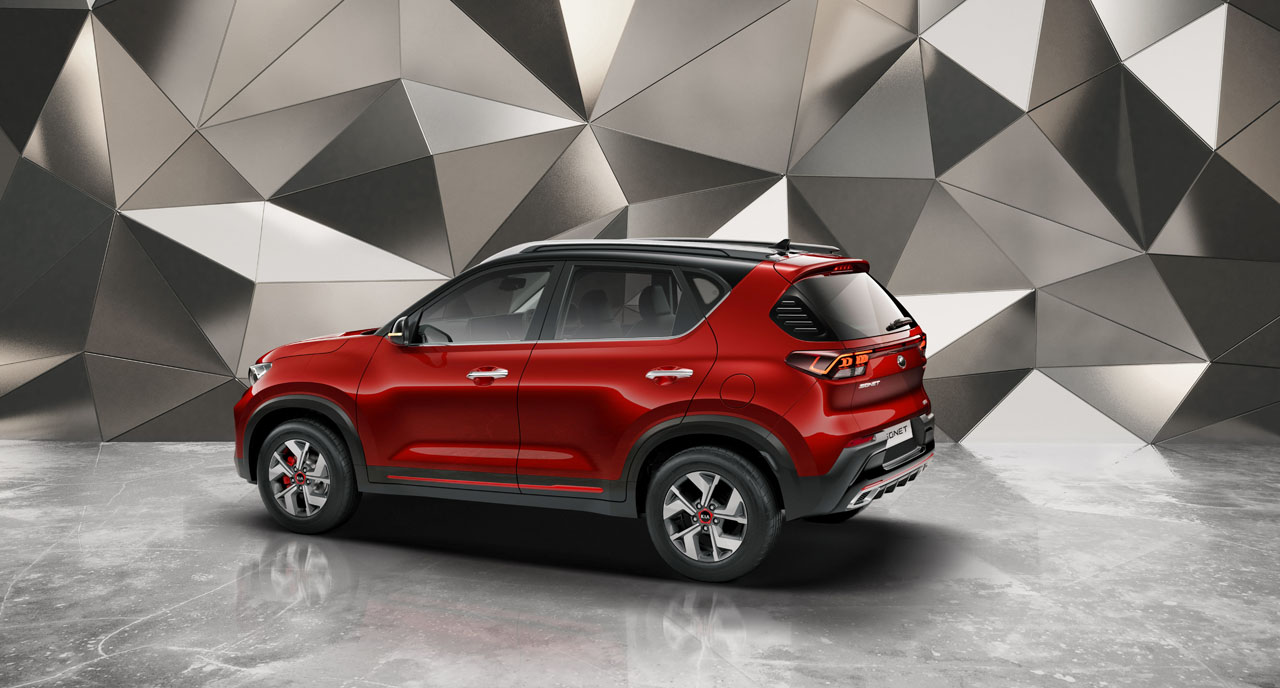 Kia Sonet urban compact SUV is built in India and will be available globally