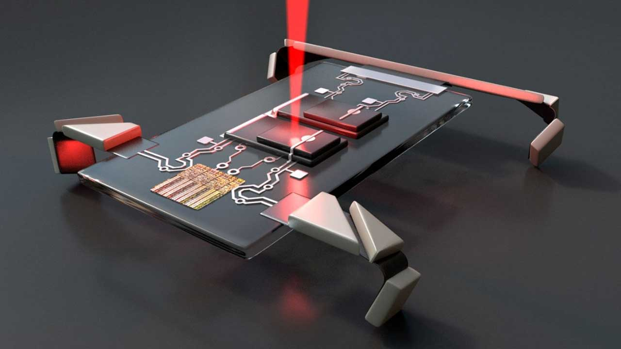 Cornell creates microscopic robots controlled by electronic signals